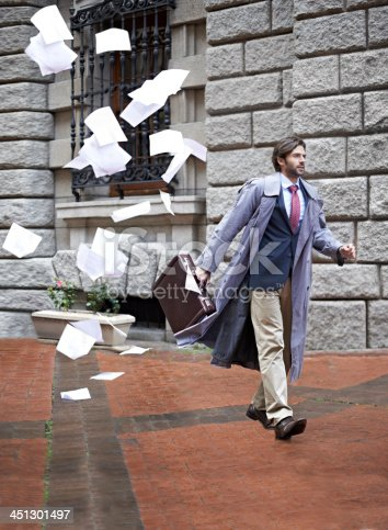 istock It's not going to be his day... 451301497