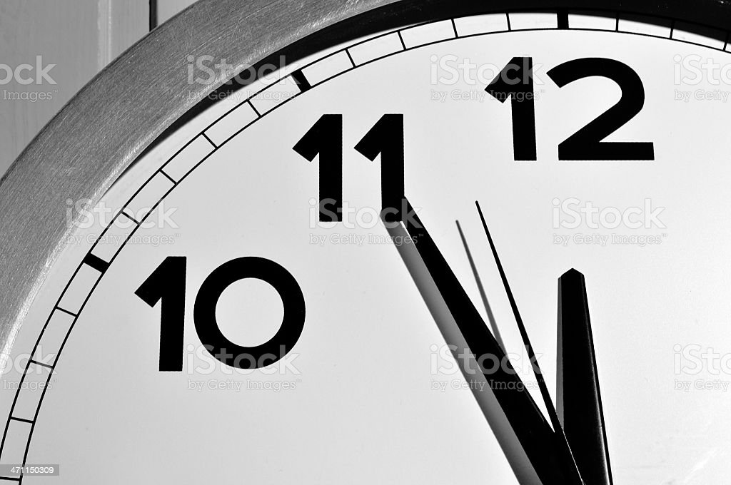 It's not too late ! stock photo