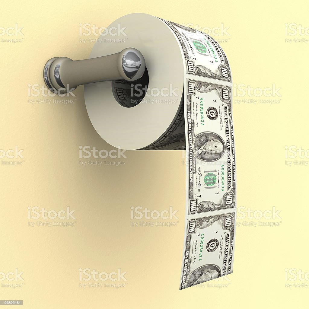 It's not TP - Royalty-free Banking Stock Photo