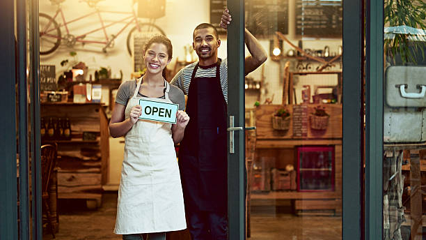 it's official! we're open for business - open sign stock pictures, royalty-free photos & images