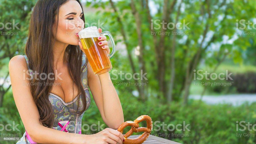 It's Oktoberfest Time - The Bavarian Way of Life stock photo