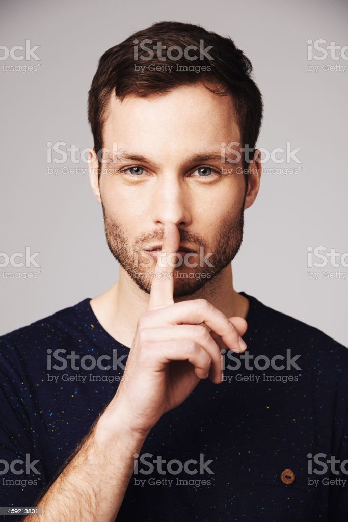 It's our secret stock photo