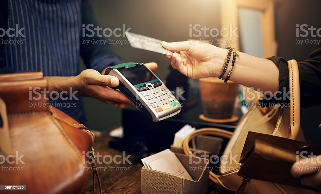 NFC: It's payment made simple royalty-free stock photo