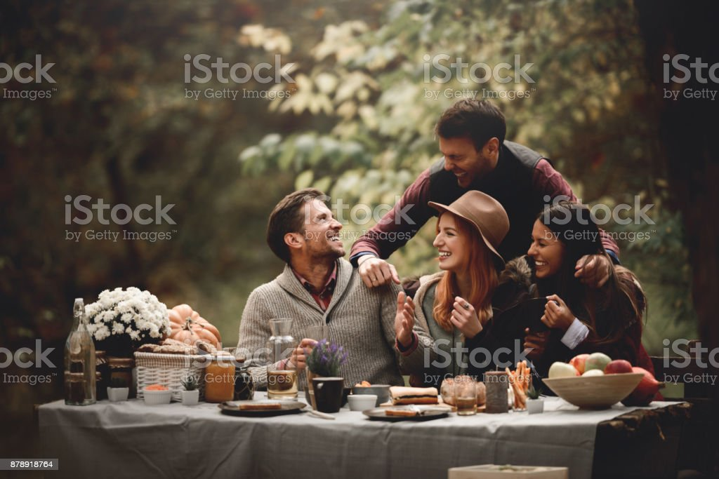 It's picnic time stock photo