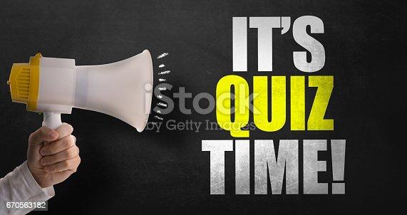 istock Its Quiz Time 670563182