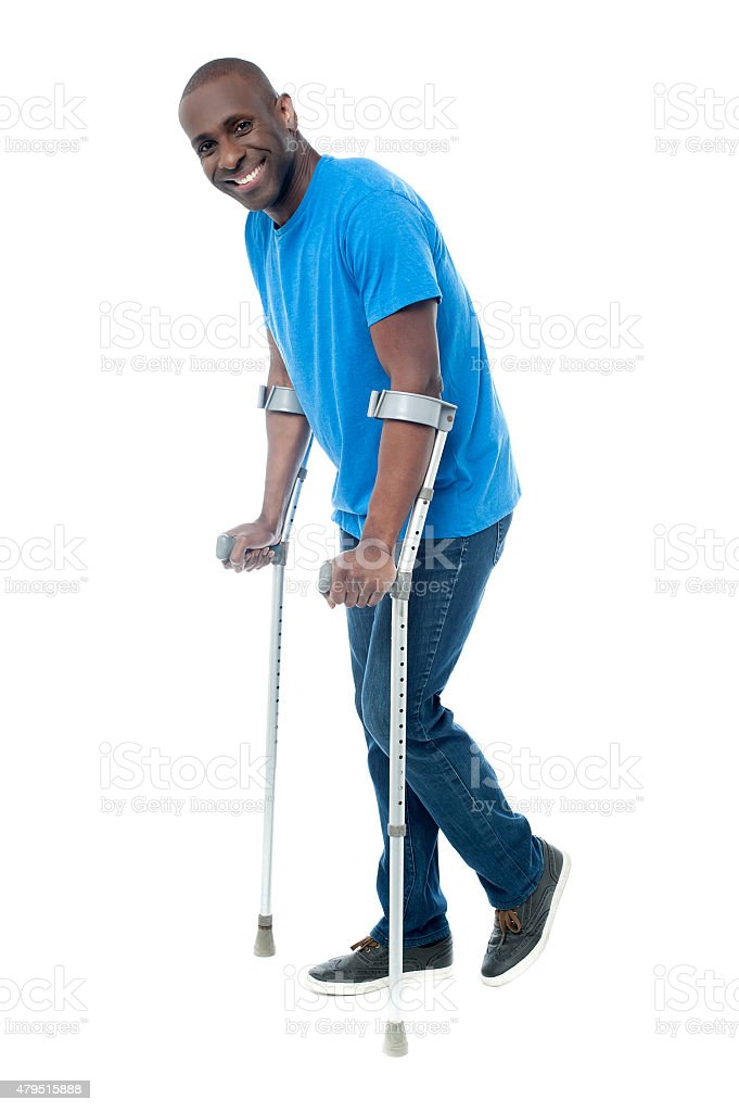 It's really help me to recover from injury. stock photo