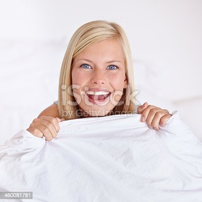 istock It's so cosy! I'm not coming out! 460081781