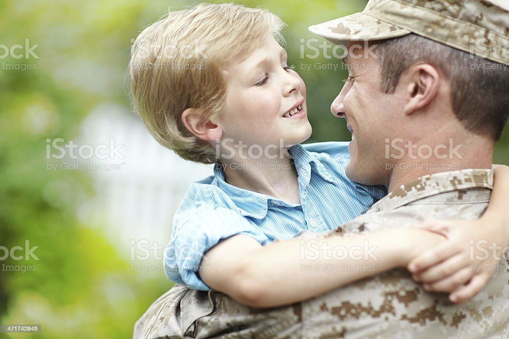 It's so good to be home royalty-free stock photo