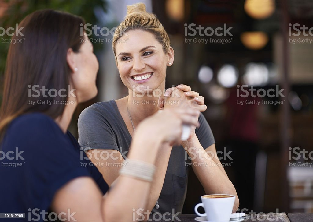 It's so good to see you again stock photo