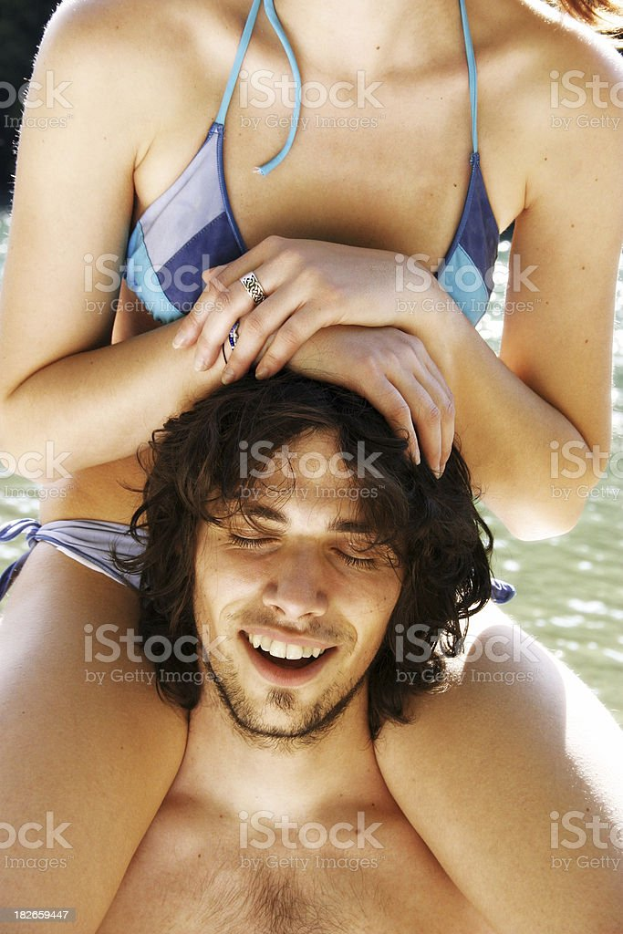 It's summertime fun royalty-free stock photo