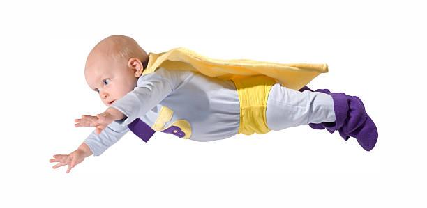 é superbaby - baby super hero imagens e fotografias de stock