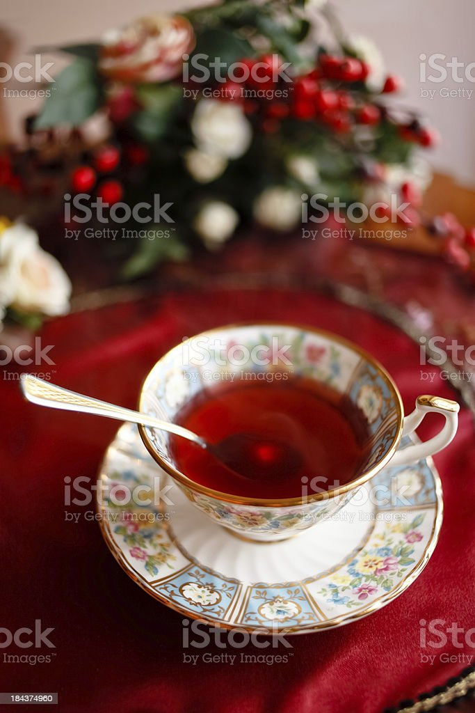 It's tea time royalty-free stock photo