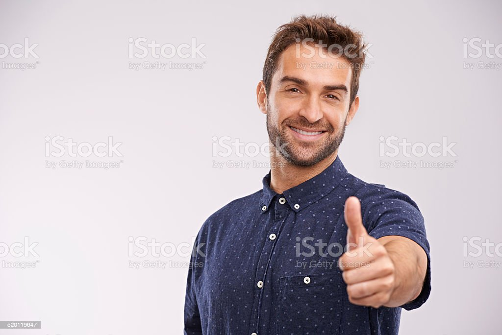 It's the best! stock photo