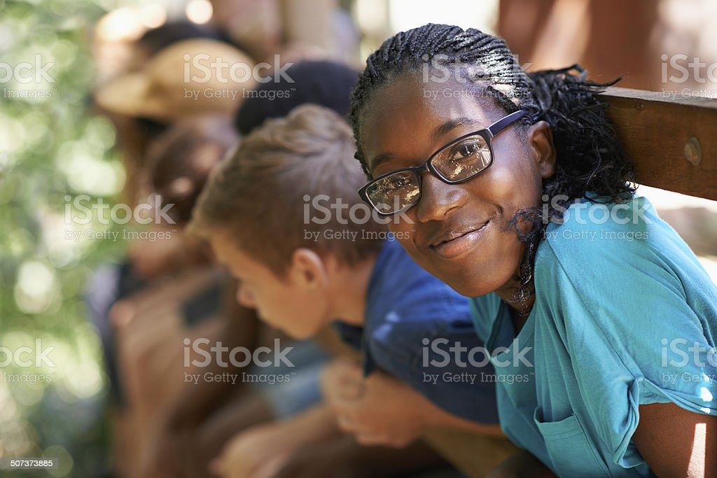 It's the best summer ever! stock photo