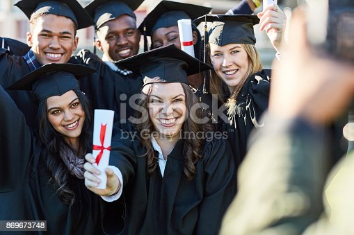 istock It's the big day they've all been anticipating 869673748
