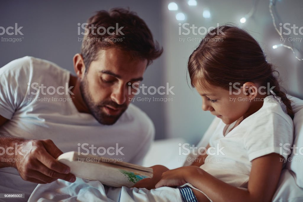It's the calmest and quiet part of the day stock photo