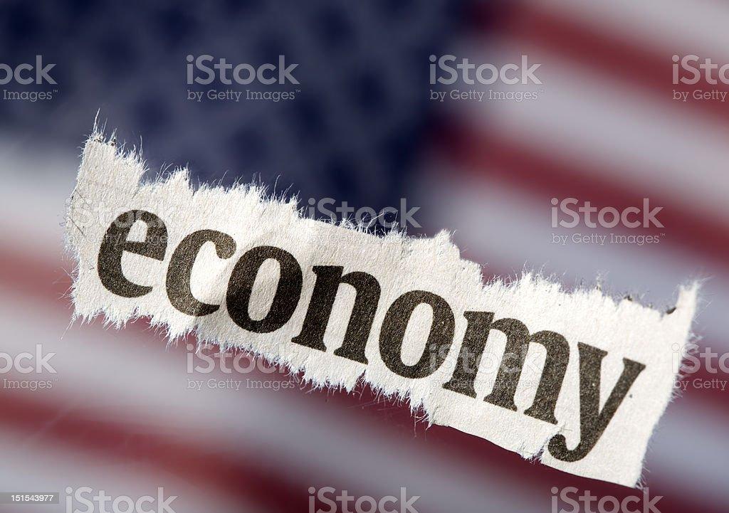 It's The Economy stock photo