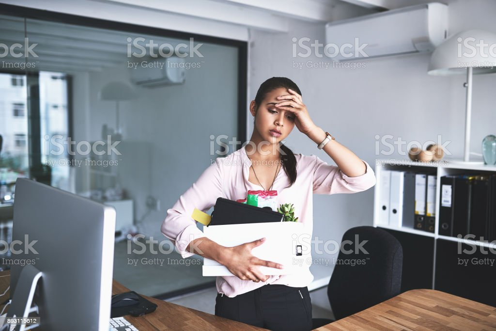 It's the most stressful thing that could happen to anyone stock photo