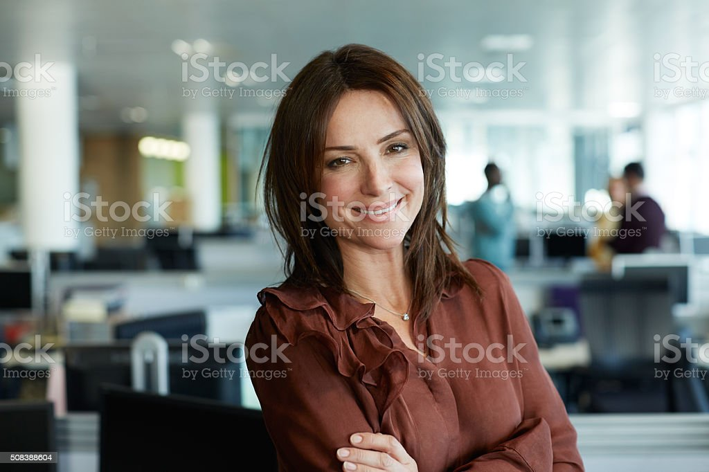 It's the perfect job for me stock photo