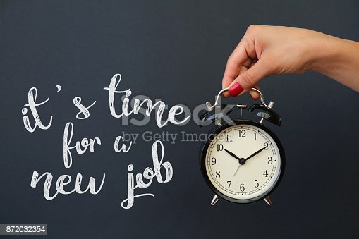 istock It's time for a new job 872032354