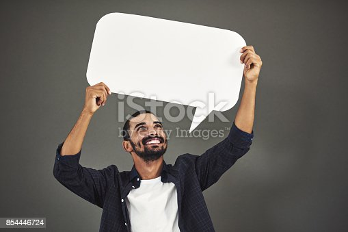 1048561956istockphoto It's time I voice my opinions 854446724