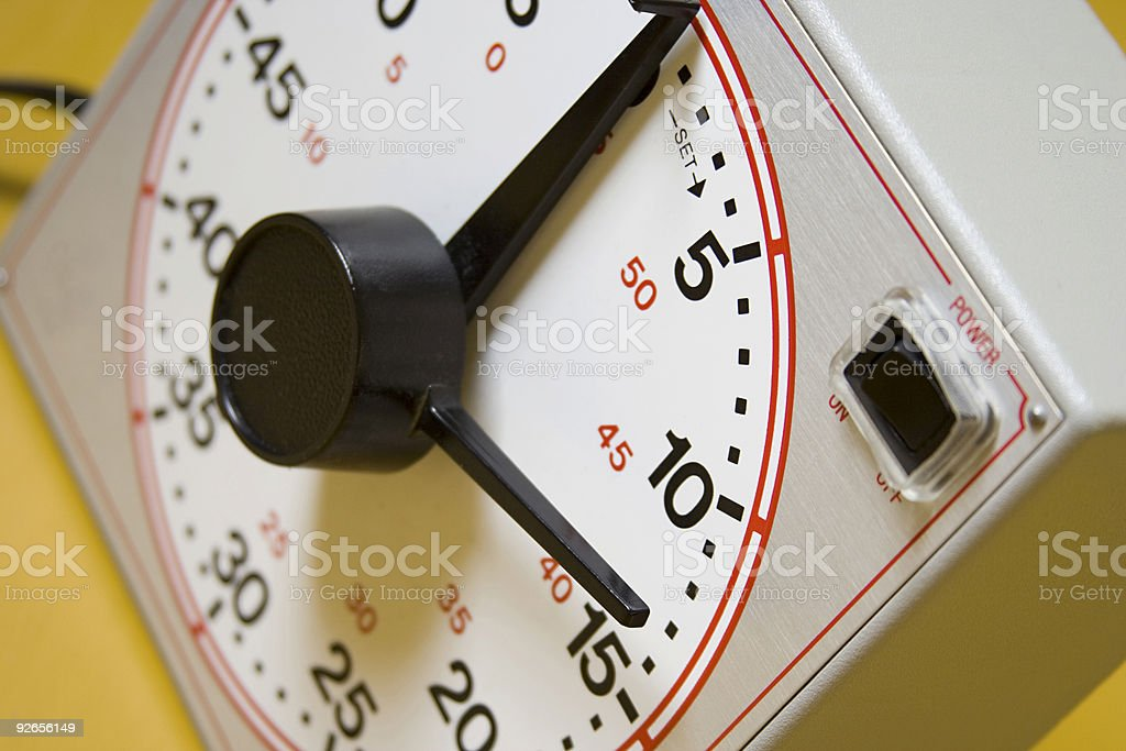 It's Time stock photo