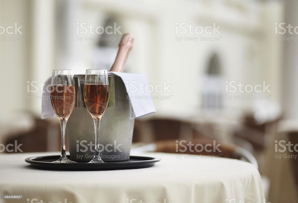 It's time to celebrate! stock photo
