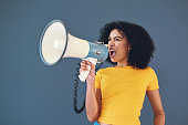 istock It's time to stand up and be heard 1173545984