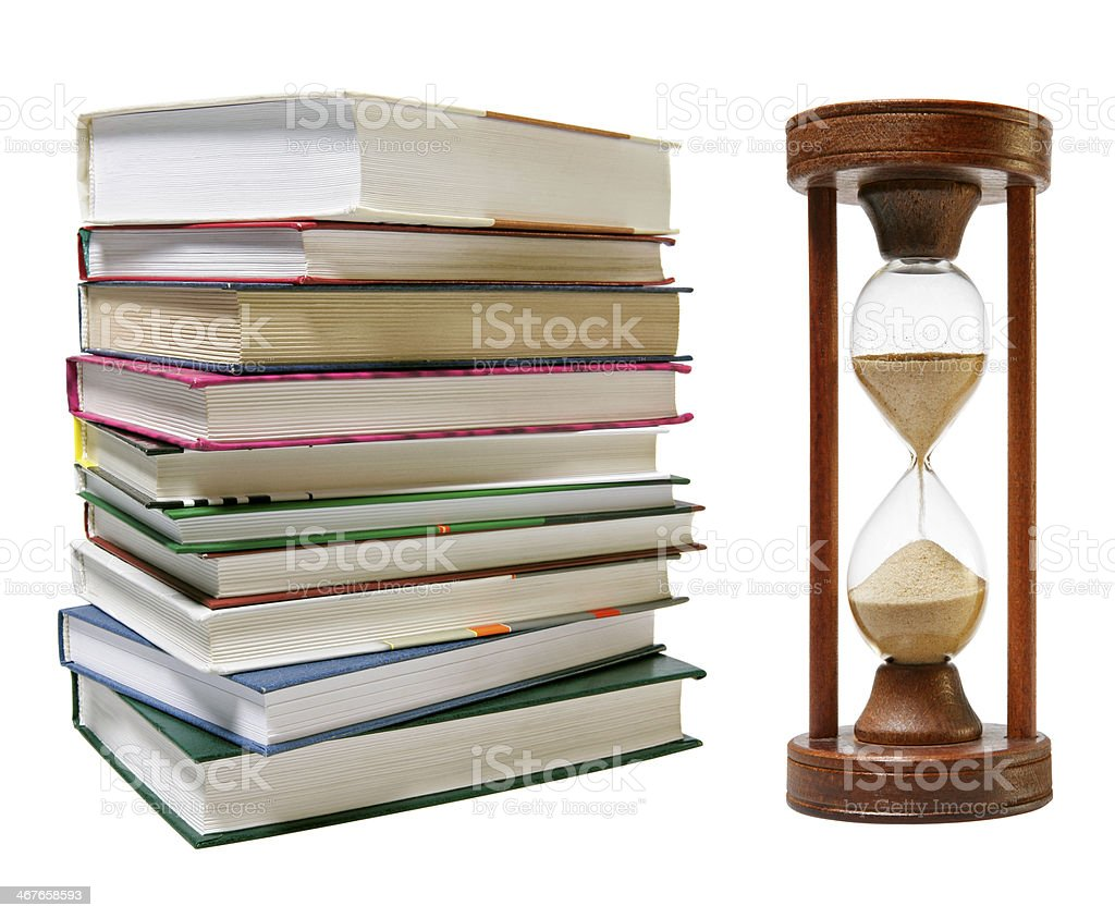 It's Time to Study stock photo