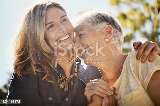 istock It's true what they say about that bond… 804416178