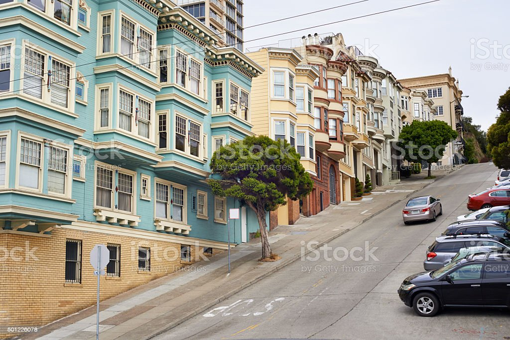 It's uphill from here stock photo