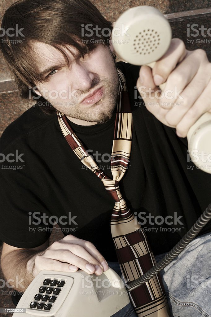 'It's your call!!' royalty-free stock photo