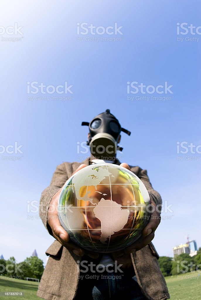 Its Your World! royalty-free stock photo