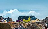 istock Iulissat, stranded icebergs, Greenland 600000338