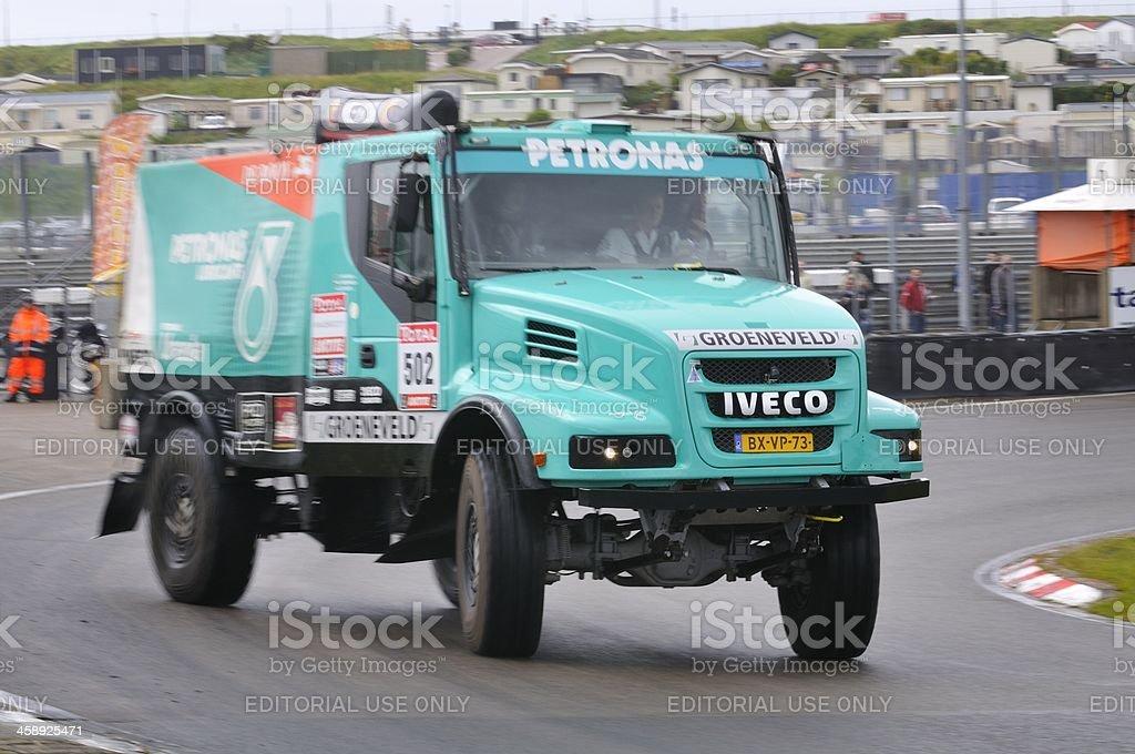 Iveco Powerstar Torpedo 4x4 stock photo