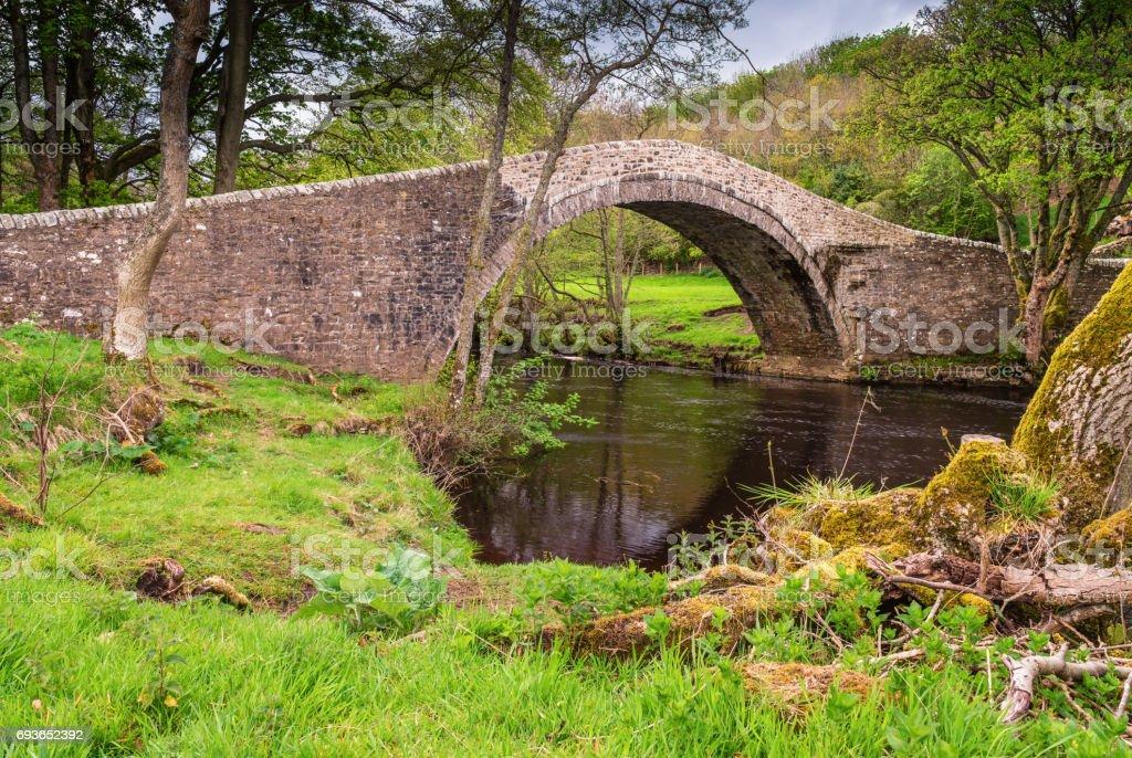 Ivelet Bridge stock photo