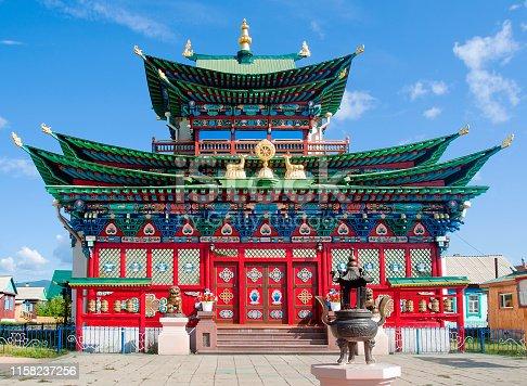 Ivolginsky datsan, Buddhist temple, Buryatia.