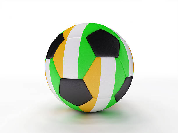 Cote D'ivoire soccer football ball stock photo
