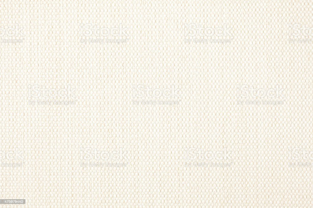 ivory fabric texture for background stock photo