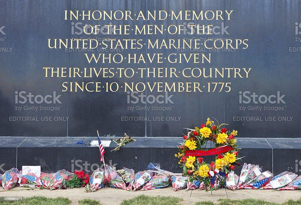Iwo Jima Memorial In Washington DC, USA royalty-free stock photo