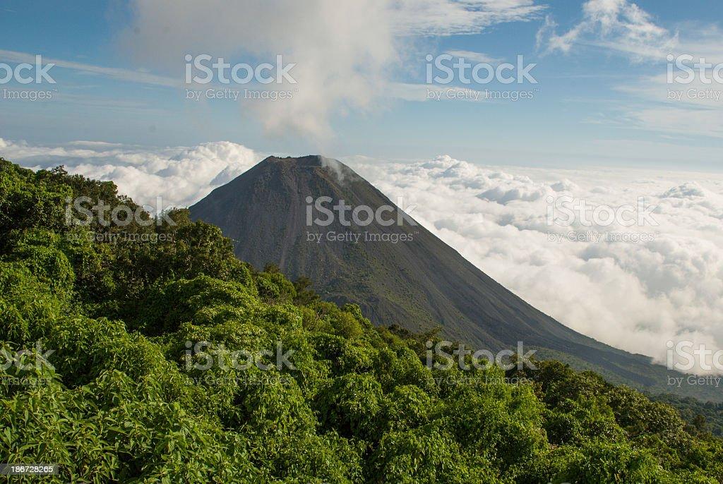 Izalco Volcano Cerro Verde National Park El Salvador Central America stock photo