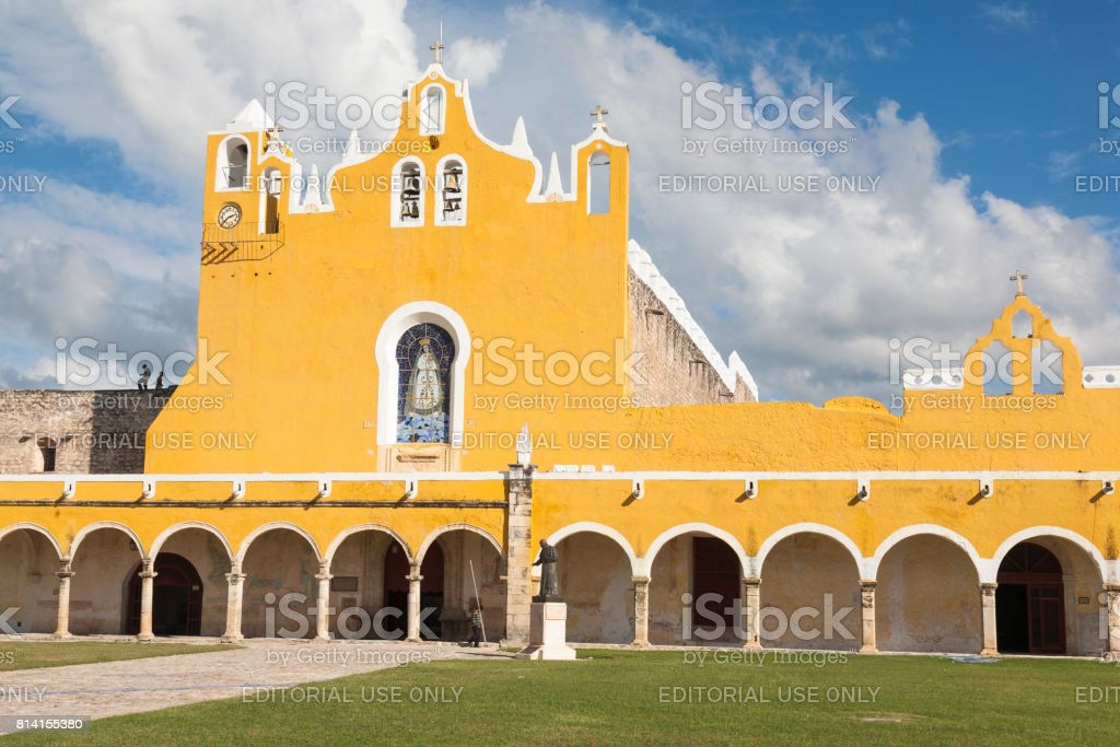 Izamal: Convento de San Antonio 1 stock photo