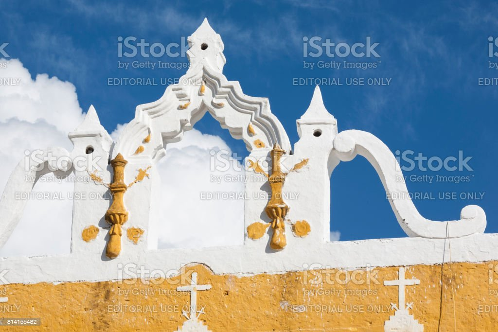 Izamal: Convento de San Antonio 2 stock photo