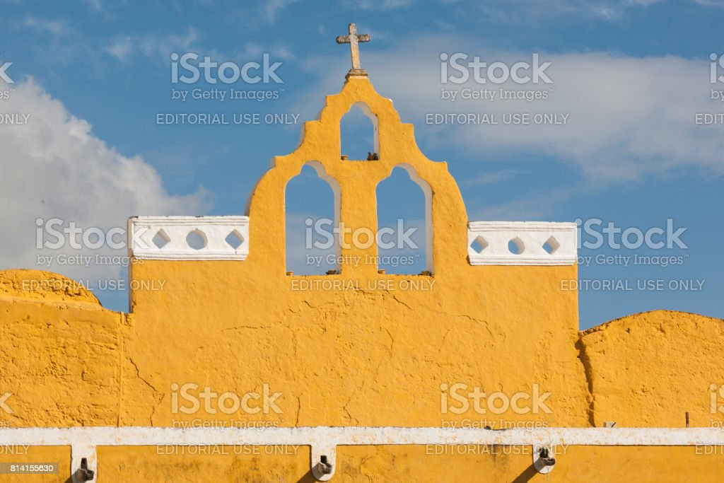 Izamal: Convento de San Antonio 3 stock photo