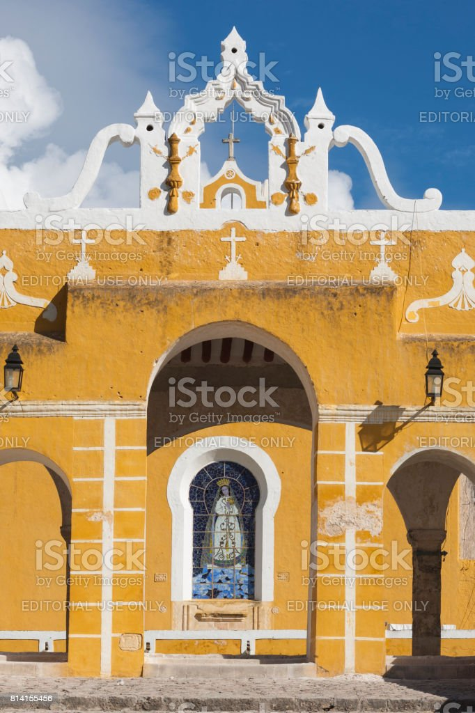 Izamal: Convento de San Antonio 4 stock photo