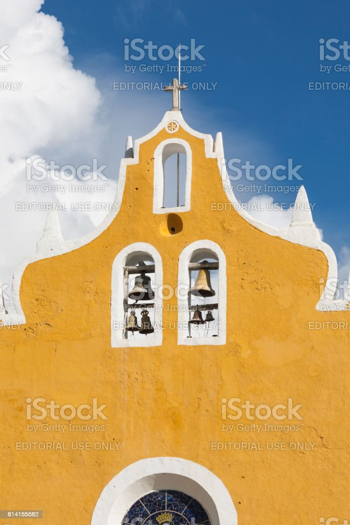 Izamal: Convento de San Antonio 5 stock photo