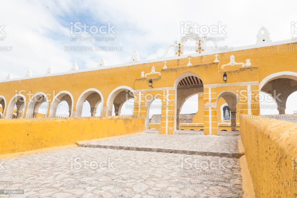 Izamal: Convento de San Antonio 6 stock photo