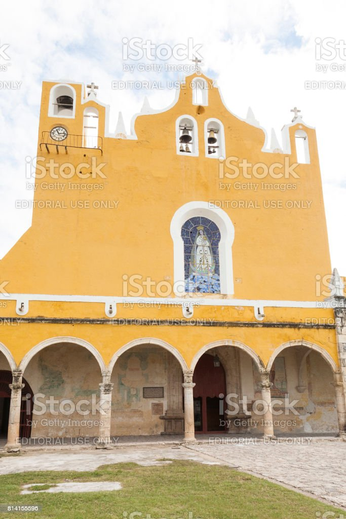 Izamal: Convento de San Antonio 7 stock photo