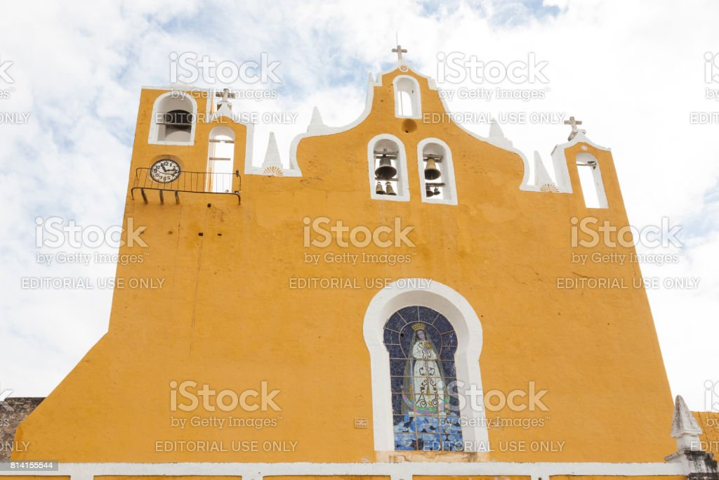 Izamal: Convento de San Antonio 9 stock photo