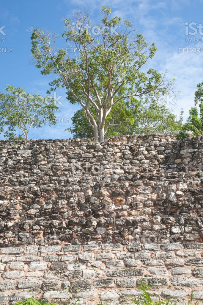 Izamal: Kinich Kak Moo Mayan Site 1 stock photo